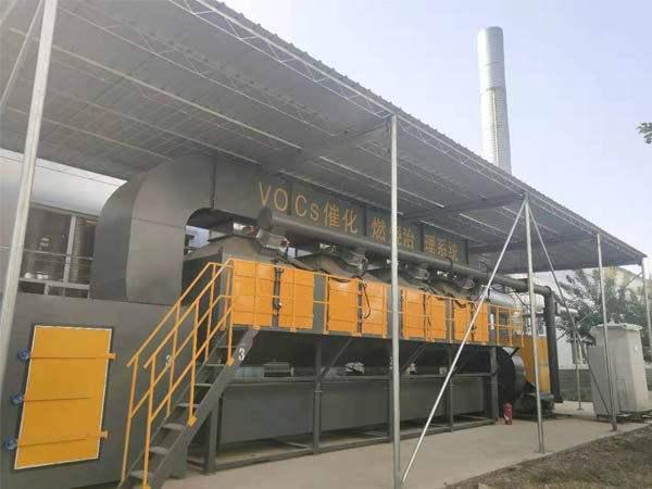 工厂活性炭催化燃烧废气设备
